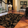 Mohawk Home Blackbourne Black Rectangular Indoor Woven Area Rug (Common: 5 x 8; Actual: 63-in W x 94-in L x 0.5-ft Dia)