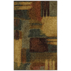 Mohawk Home Montage 45-in x 60-in Rectangular Multicolor Accent Rug