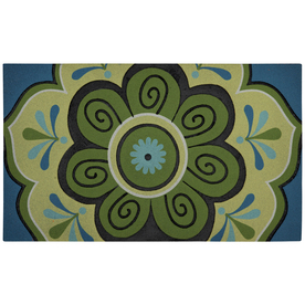 "Mohawk Home 18"" x 30"" Multicolor Door Mat"