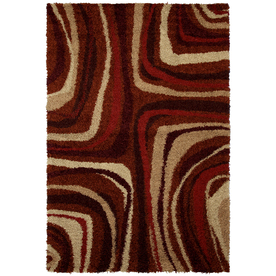 Mohawk Home Masterpiece Red Rectangular Indoor Woven Area Rug (Common: 5 x 8; Actual: 60-in W x 96-in L x 0.5-ft Dia)