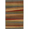 Mohawk Home Hourglass Wave Multi 96-in x 120-in Rectangular Brown/Tan Transitional Area Rug
