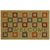 Mohawk Home 30-in x 18-in Multicolor Rectangular Door Mat