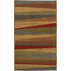 Mohawk Home Hourglass Wave 30-in x 46-in Rectangular Brown Transitional Accent Rug
