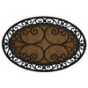 Mohawk Home 36-in x 22-in Multicolor Oval Door Mat