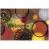 Style Selections 35-in x 23-in Multicolor Rectangle Door Mat