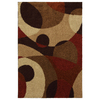 Mohawk Home Hemlock Abstract 8-ft x 11-ft Rectangular Tan Transitional Area Rug