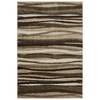 Mohawk Home Savannah Wave 8-ft x 11-ft Rectangular Beige Transitional Area Rug
