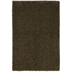 Mohawk Home Shearling Garden 5-ft x 8-ft Rectangular Tan Transitional Area Rug