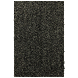 Mohawk Home Shearling Boucle Graystone 8-ft x 10-ft Rectangular Gray Transitional Area Rug