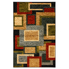 Mohawk Home Pembroke Frames 5-ft x 8-ft Rectangular Black Transitional Area Rug