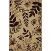 Mohawk Home Laurel Leaves 5-ft x 8-ft Rectangular Beige Transitional Area Rug
