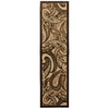 Mohawk Home Brown Paisley 2-ft 1-in W x 7-ft 10-in L Multicolor Runner