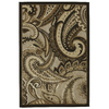 Mohawk Home Brown Paisley Natural 63-in x 94-in Rectangular Brown/Tan Transitional Area Rug