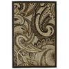 Mohawk Home Brown Paisley Natural 96-in x 120-in Rectangular Brown/Tan Transitional Area Rug