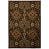 allen + roth Mifflin Brown 63-in x 94-in Rectangular Brown/Tan Transitional Area Rug