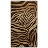 Mohawk Home Contours 25-in x 44-in Rectangular Tan Transitional Accent Rug