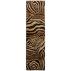 Mohawk Home Contours 2-ft 1-in W x 7-ft 10-in L Brown Runner