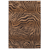 Mohawk Home Contours Camel 63-in x 94-in Rectangular Brown/Tan Transitional Area Rug