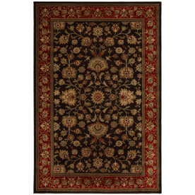 allen + roth Royce Multicolor Rectangular Indoor Woven Area Rug (Common: 5 x 8; Actual: 63-in W x 94-in L x 0.5-ft Dia)