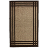 allen + roth Carney Mink Aureo Brown Rectangular Indoor Tufted Area Rug