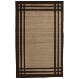 allen + roth Carney Mink Aureo Brown Rectangular Indoor Tufted Area Rug (Common: 8 x 10; Actual: 96-in W x 120-in L x 0.5-ft Dia)