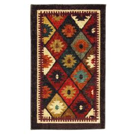 Mohawk Home Qazvin Rectangular Indoor Woven Throw Rug (Common: 2 x 4; Actual: 24-in W x 40-in L)