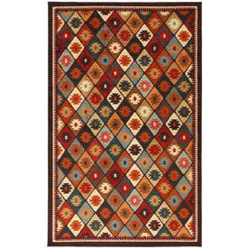 Mohawk Home Qazvin Multicolor Rectangular Indoor Woven Area Rug (Common: 8 x 10; Actual: 96-in W x 120-in L x 0.5-ft Dia)