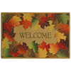 Mohawk Home Yellow Rectangular Door Mat (Common: 18-in x 30-in; Actual: 18-in x 27-in)