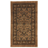 allen + roth Allen + Roth Gladwyne 25-in x 44-in Rectangular Brown Floral Accent Rug