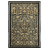 Mohawk Home Empire Park Ash Grey 63-in x 94-in Rectangular Gray/Silver Transitional Area Rug