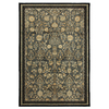 Mohawk Home Empire Park Ash Grey 96-in x 120-in Rectangular Gray/Silver Transitional Area Rug