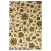 Mohawk Home Blackbourne Sand Storm 63-in x 94-in Rectangular Cream/Beige/Almond Floral Area Rug