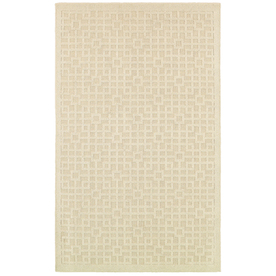 Mohawk Home Salt Box 5-ft x 7-ft Rectangular Beige Transitional Area Rug