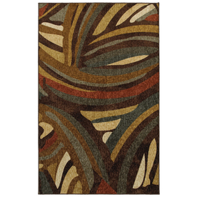 Mohawk Home Paul Neutral Multicolor Rectangular Indoor Woven Area Rug (Common: 5 x 8; Actual: 60-in W x 84-in L x 0.5-ft Dia)