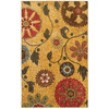 Mohawk Home Yellow Medallion 5-ft x 7-ft Rectangular Multicolor Transitional Area Rug