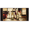 Style Selections Fine Wines 20-in x 45-in Rectangular Brown Transitional Accent Rug