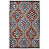 Mohawk Home Mystic Ikat Multicolor Rectangular Outdoor Tufted Area Rug (Common: 8 x 10; Actual: 96-in W x 120-in L x 0.5-ft Dia)