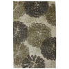 Mohawk Home Poppy Oversize Rectangular Cream Floral Tufted Area Rug (Common: 5-ft x 8-ft; Actual: 5-ft x 8-ft)