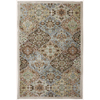Mohawk Home Kirman Coast Peat Moss Cream/Beige/Almond Rectangular Indoor Woven Area Rug