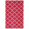 Mohawk Home Fancy Trellis Rectangular Red Transitional Tufted Area Rug (Common: 5-ft x 8-ft; Actual: 60-in x 96-in)