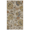 allen + roth Althorne Ivory Rectangular Indoor Woven Throw Rug (Common: 2 x 4; Actual: 25-in W x 44-in L x 0.5-ft Dia)
