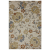allen + roth Althorne Ivory Rectangular Indoor Woven Area Rug (Common: 8 x 11; Actual: 96-in W x 132-in L x 0.5-ft Dia)