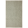 Mohawk Home Diaphanous Green Rectangular Indoor Tufted Area Rug (Common: 5 x 7; Actual: 60-in W x 84-in L x 0.5-ft Dia)