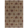 Mohawk Home Burlington Light Camel Cream Rectangular Woven Area Rug