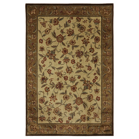 Mohawk Home Alice Brown Rectangular Indoor Woven Area Rug (Common: 9 x 12; Actual: 110-in W x 144-in L x 0.5-ft Dia)