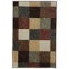 Mohawk Home Mansfield Brown Rectangular Indoor Tufted Throw Rug (Common: 2 x 4; Actual: 30-in W x 46-in L x 0.5-ft Dia)