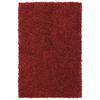 Mohawk Home Shaggedy Shag Crimson Red Rectangular Indoor Shag Area Rug