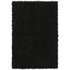 Mohawk Home Shaggedy Shag Black Black Rectangular Indoor Shag Area Rug