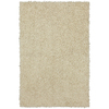 Mohawk Home Shaggedy Shag Cream Ivory Rectangular Indoor Shag Area Rug (Common: 8 x 10; Actual: 90-in W x 120-in L x 0.5-ft Dia)