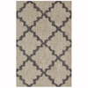Mohawk Home Briarwick Gray Rectangular Indoor Woven Throw Rug (Common: 2 x 3; Actual: 25-in W x 44-in L)